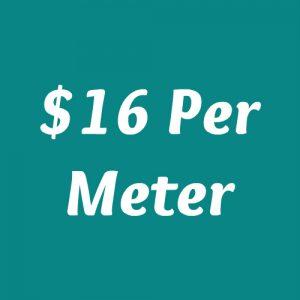 $16 Per Meter