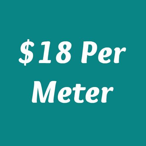 $18 Per Meter