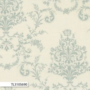 Rococco & Sweet - Damask Blue