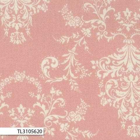 Rococco & Sweet - Damask Pink