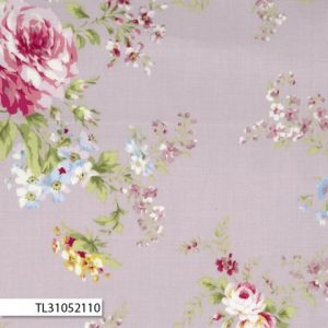 Rococco & Sweet - Large Floral Purple