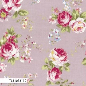 Rococco & Sweet - Medium Floral Purple