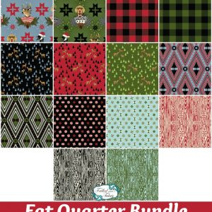 Tula Pink Holiday Homies - Fat Quarter Bundle