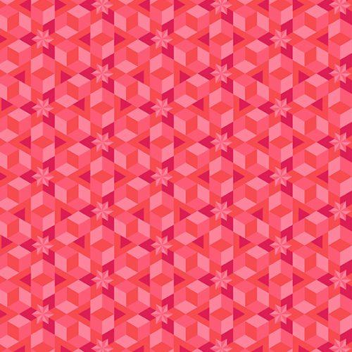 Andover - Alison Glass - Diving Board Starfish Coral 8638-E