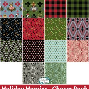 Tula Pink - Holiday Homies Charm Pack