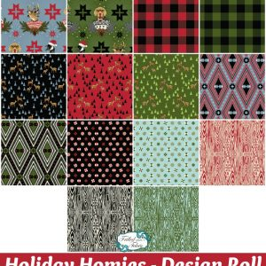 Tula Pink - Holiday Homies Design Roll