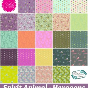 Tula Pink - Spirit Animal Hexagons