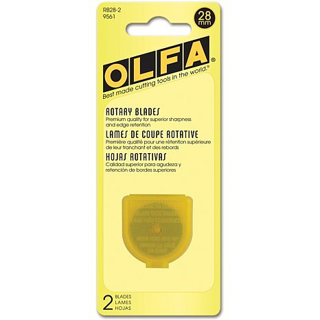 RB28-2 Olfa 28mm Rotary Blades - 2 pack