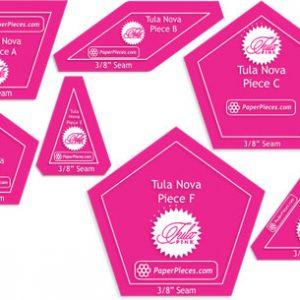 Tula Nova Acrylic Template Set - TULANOVAACR