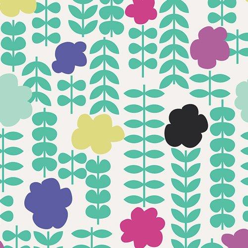 Art Gallery - Jeni Baker - Geometric Bliss - Poppie Coordinates Jade GBL-1434