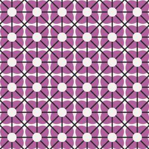 Art Gallery - Jeni Baker - Geometric Bliss - Cuboid Orchid GBL-1438