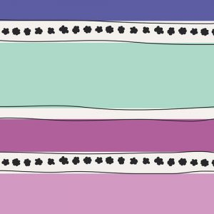 Art Gallery - Jeni Baker - Geometric Bliss - Mobius Stripe Cool GBL-1439
