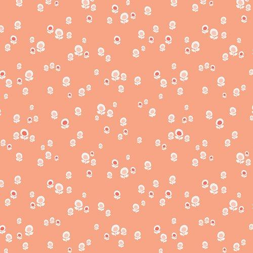 Art Gallery - Jeni Baker - Geometric Bliss - Spherical Buds Peach GBL-2431