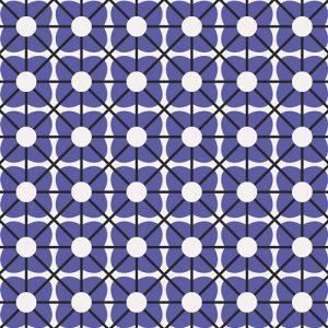 Art Gallery - Jeni Baker - Geometric Bliss - Cuboid Cobalt GBL-2438