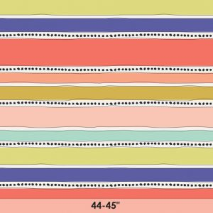 Art Gallery - Jeni Baker - Geometric Bliss - Mobius Stripe Warm GBL-2439