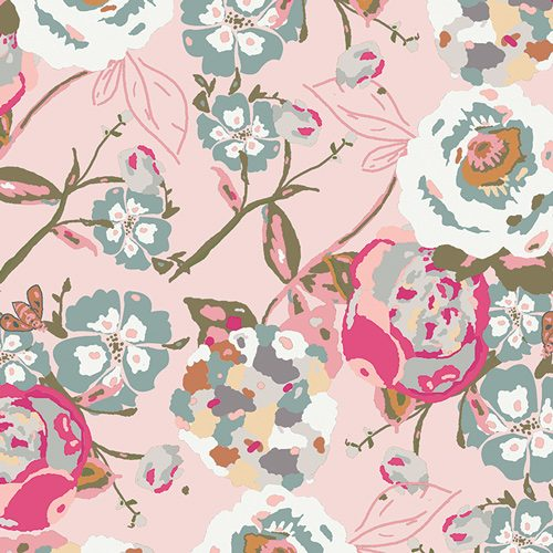 Art Gallery Fabric - KF-500-1 Garden Rocket Bachelorette Fusions