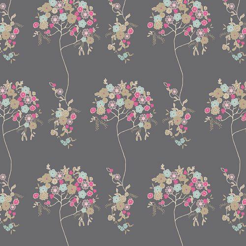 Art Gallery Cherie - V-8806 Tree Fleur Sombre Voile