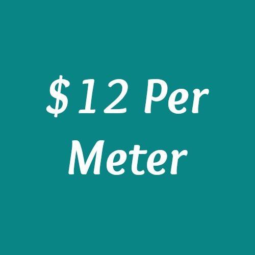 $12 Per Meter