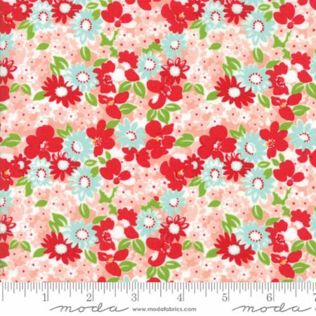 Moda - Bonnie & Camille - The Good Life - Flower Garden Pink 55155-13