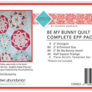 Lilabelle Lane - Be My Bunny Quilt Kit EPP Set