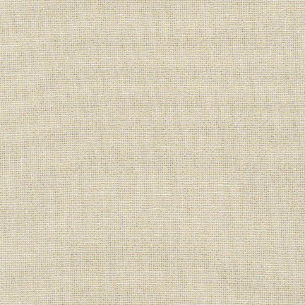 Robert Kaufman - Essex Yarn Dyed Linen Metallic - Sand E105-1323