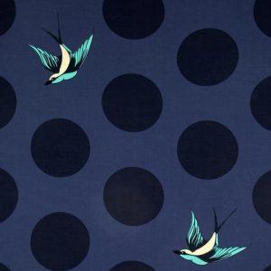 "Tula Pink Free Fall Navy - 108"" Wide Backing Fabric"