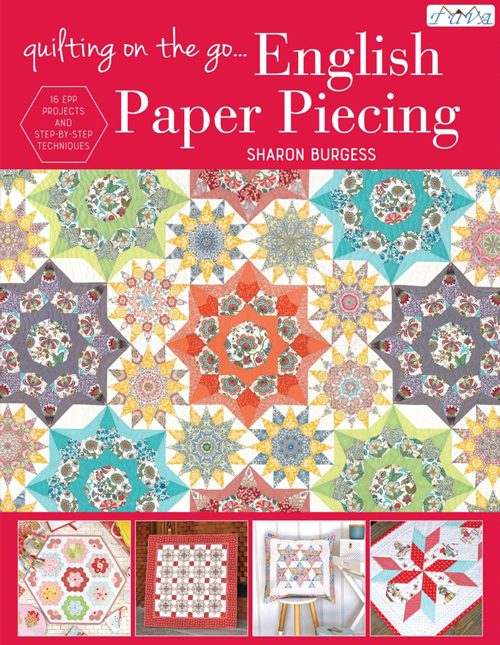 Lilabella Lane - Quilting On the Go English Paper Piecing Quilt Book