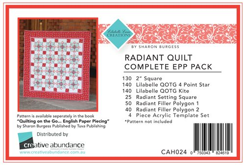 Lilabelle Lane - Radiant Quilt Kit EPP Set