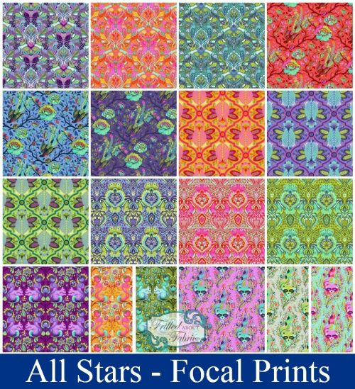 Tula Pink All Stars - Focal Prints