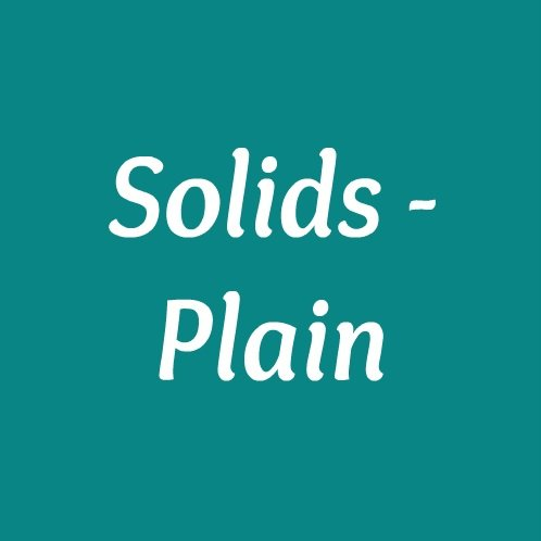 Solids - Plain
