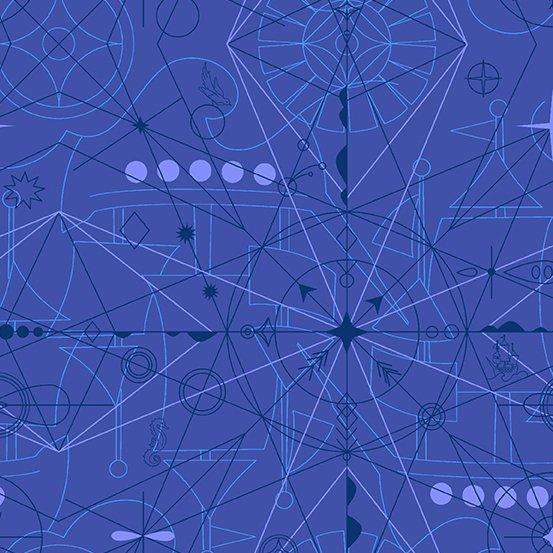 Alison Glass - Sun print 2018 Compass Lapis
