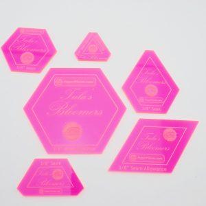 ACRTULABLOOM - Tula Blommers 6 piece acrylic template set