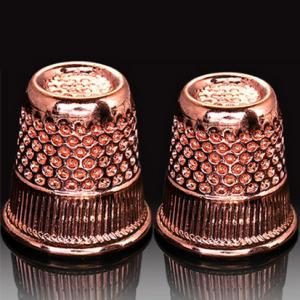 Hemline Rose Gold Thimble DB.300.RG