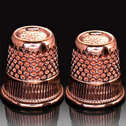 Hemline Rose Gold Thimble DB.300.RG