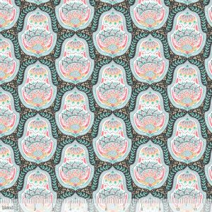Blend Fabric Ana Davis Hill & Dale Belle Grey 113.113.03.2