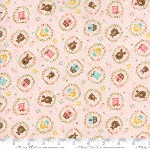 Moda Stacy Iest Hsu Home Sweet Home 20573-12 Pink