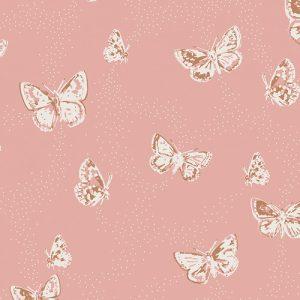 Art Gallery Fabric - Amy Sinibaldi Dollhouse Flutterdust Haze KNIT K-2083