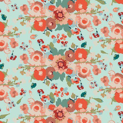 Art Gallery Fabric Maureen Cracknell - Love Story Reflection of Love Light KNIT K-38800