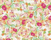 Art Gallery Fabrics - Wild Bloom Flowerfield Sunrise KNIT K-12035
