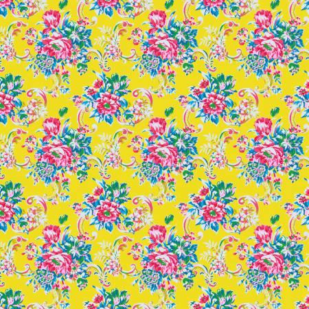 Free Spirit Jennifer Paganelli Sugar Beach Bee Yellow PWJP138.YELL