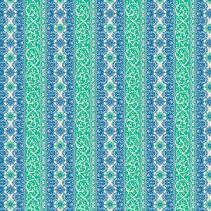 Free Spirit Jennifer Paganelli Sugar Beach Edwina Blue PWJP141.BLUE