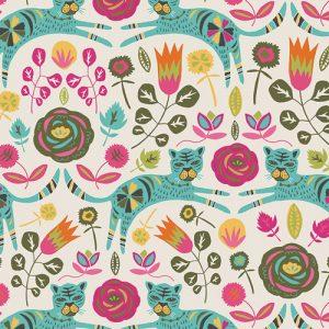 Art Gallery Fabric - Jessica Swift Tallinn Tigris Lollipop KNIT K-75300