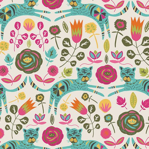 Art Gallery Fabric - Jessica Swift Tallinn Tigris Lollipop TAL-75300