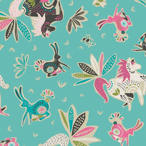 Art Gallery Fabric - Jessica Swift TZirkusbau Candy TAL75305allinn