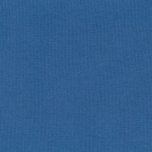 Stof Avalana Jersey Knit Solid Blue Knit 20-016