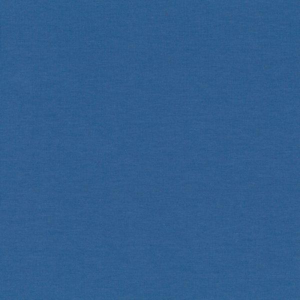 Stof Avalana Jersey Knit Solid Blue Knit 20-016