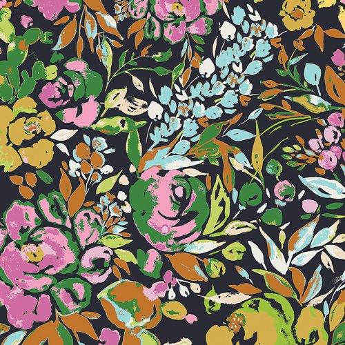 Bari J Art Gallery Indigo and Aster La Floraison Dim IDA-24800