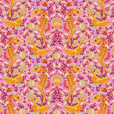 Tula Pink Zuma ea Stallion Glowfish PWTP119.GLOW - Patchwork Fabric Australia