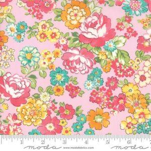 Moda Regent Street Lawn 2018 Chelsea Pink M33321-13 - Lawn Fabric Australia