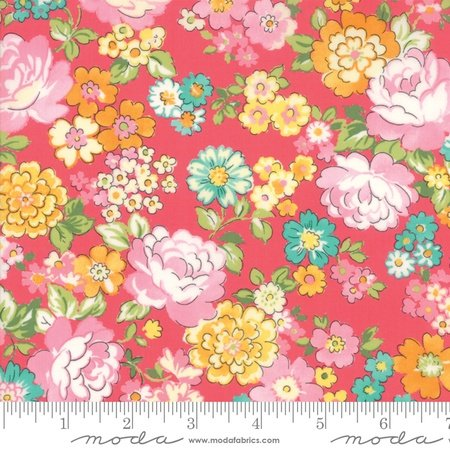 Moda Regent Street Lawn 2018 Chelsea Coral M33321-19 - Lawn Fabric Australia